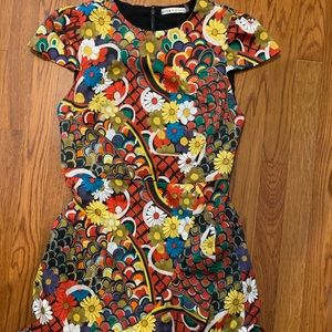 Alice + Olivia Dresses - Alice and Olivia floral melody multi dress